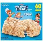 Kellogg's Rice Krispies Treats, 0.78 oz, 60-count