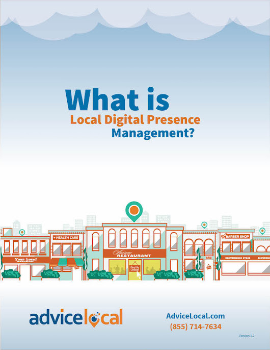 Local Digital Presence Management is NOW!