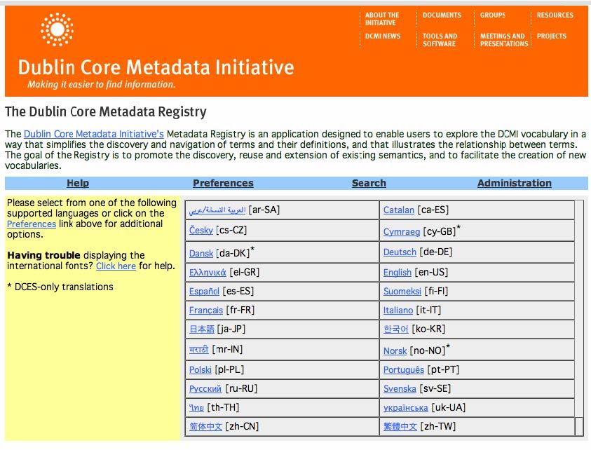 Dublin Core Metadata SEO