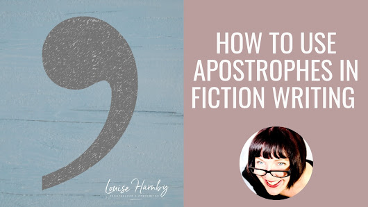 How to use apostrophes in fiction writing: A beginner's guide