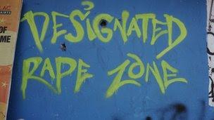 A graffiti on a Delhi wall on 4 January 2012