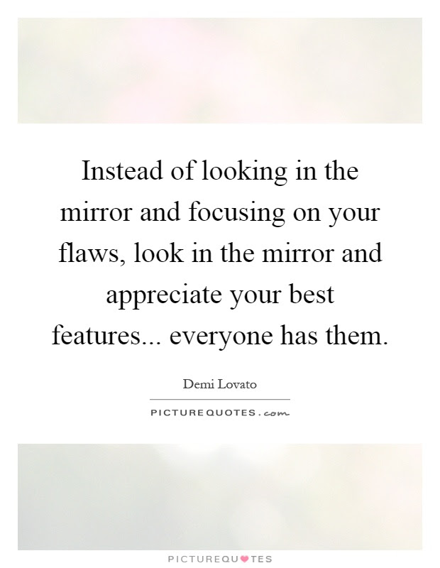 Looking In Mirror Quotes Sayings Looking In Mirror Picture