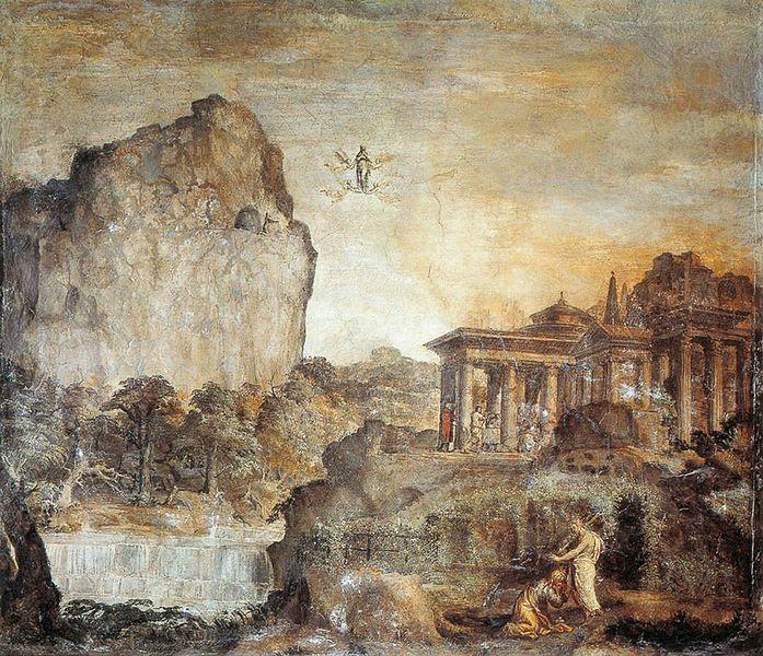 Fil: Polidoro da Caravaggio Noli mig Tangere San Silvestro al Quirinale 1525.jpg