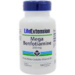 Life Extension Mega Benfotiamine Vegetarian Capsules 250mg - 120 count