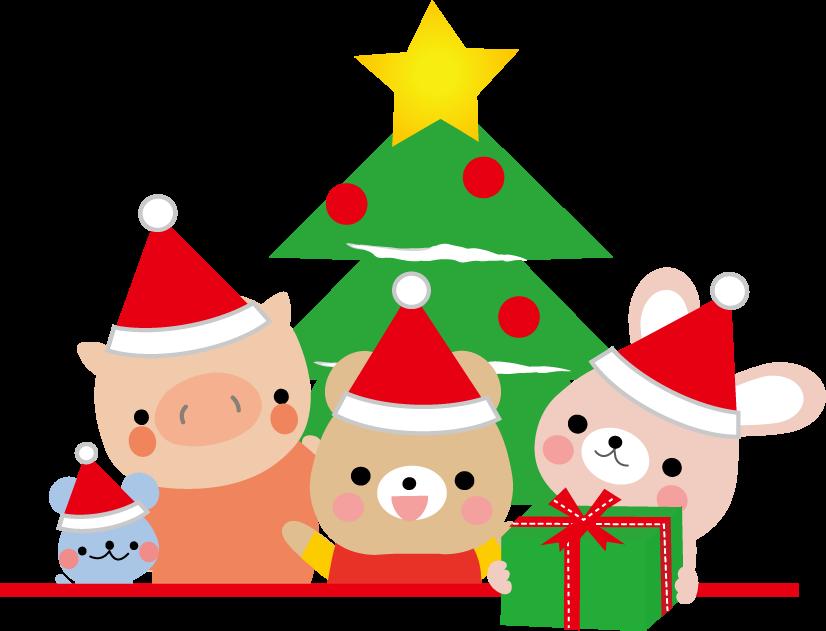 クリスマスのイラスト無料素材