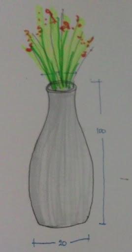 Gambar Vas Bunga 3 Dimensi Gambar Bunga