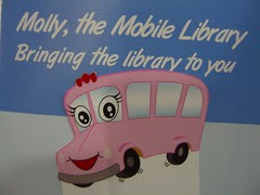 Molly the Mobile Library Bus