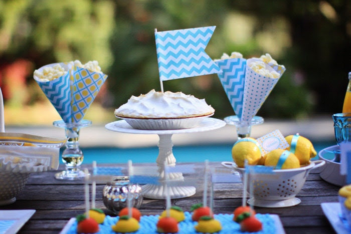 POOL PARTY Collection- Printable Party Package/Collection- A Blissful Nest- 50 Percent Off