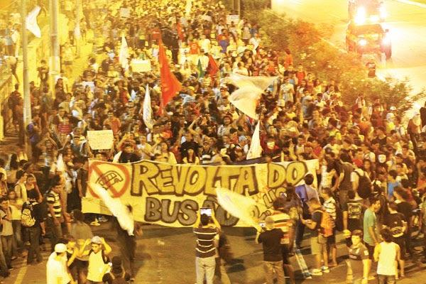 Revolta em Natal - Não só o aumento da passagem tem que derrubar as oligarquias