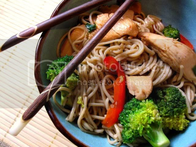 Soba Noodle Bowl with Veggies