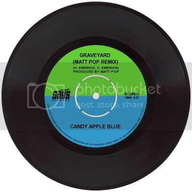 Matt Pop Candy Apple Blue Matt Mix