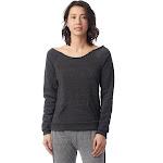 Alternative Maniac Eco-Fleece Sweatshirt 2X Eco Black , Alternative Apparel