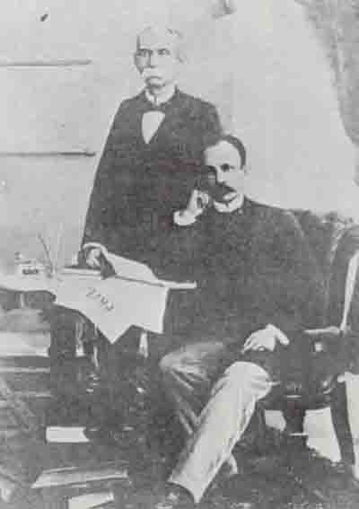José Martí y Máximo Gómez