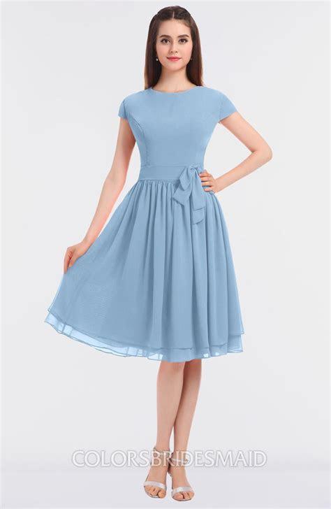 ColsBM Bella Sky Blue Bridesmaid Dresses   ColorsBridesmaid