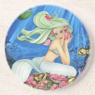 Mermaid Coaster coaster