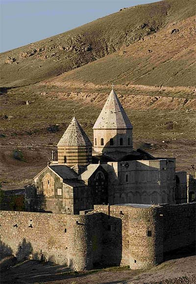 The medieval Armenian monastery of Saint Thaddeus in Northern Iran