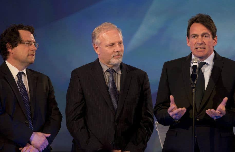 Aux dernières élections, les deux tiers des Québécois francophones n'ont pas voté pour le PLQ qui a pourtant obtenu une solide majorité.