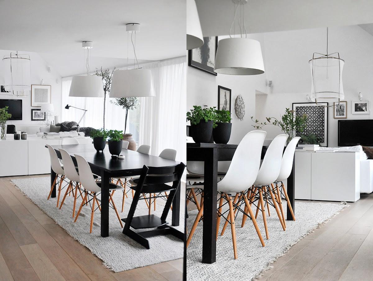 16 Black & White Dining Rooms That Work Their Monochrome Magic