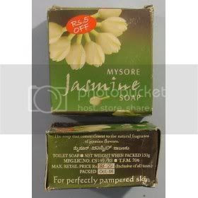 Mysore Sandal's Jasmine Natural soap