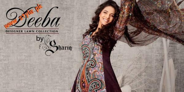 Latest Deeba Designer Lawn For Summer 2012 002
