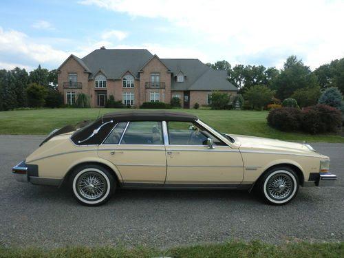 Sell used 1982 Cadillac Seville Luxury Sedan 4-Door 4.1L ...