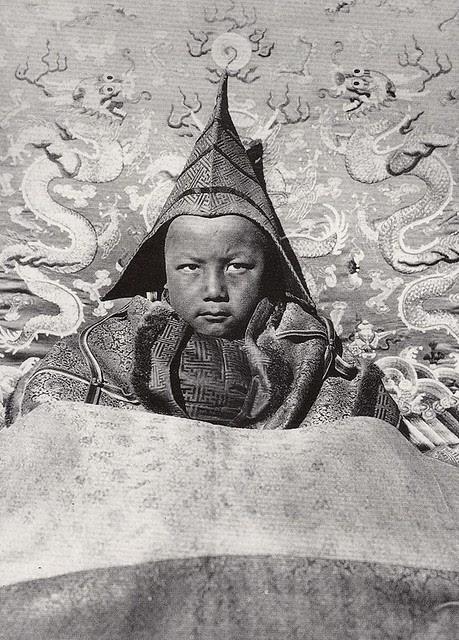 Huofo a Living Buddha in Gansu province, 1927
