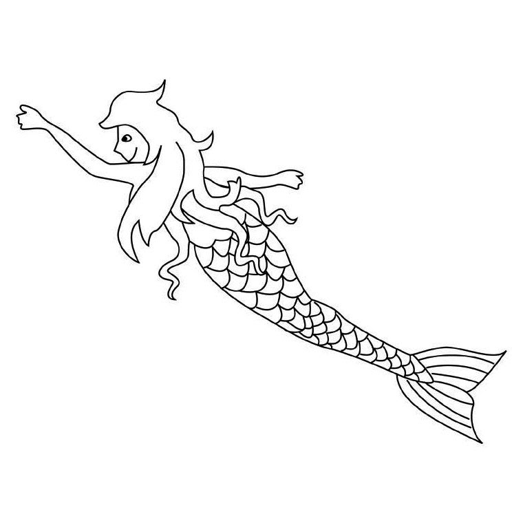 Coloriages Sirene Az Coloriage