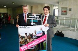 Nossa ação no aeroporto de Brasília e a vitória na Câmara dos Deputados