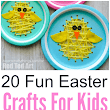 Top 20 Fun Easter Crafts for Kids - Classy Mommy