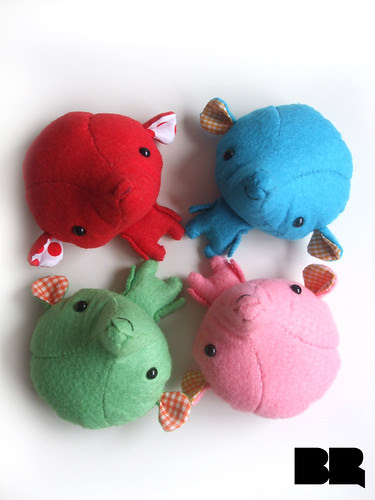 Plushies kawaii elephants