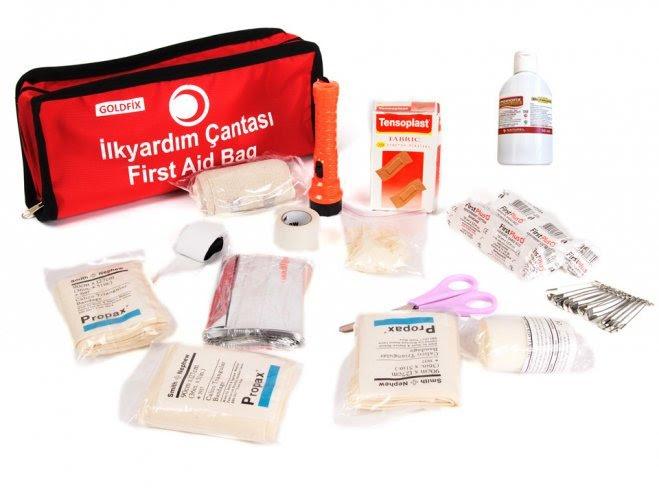 Ilk Yardım çantasında Bulunması Gereken Malzemeler Ve Resimleri