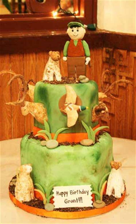 Grant?s Hunting Birthday Cake   A Cake Life