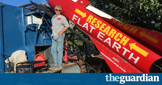 Self-taught rocket scientist plans launch to test flat Earth theory | US news | The Guardian