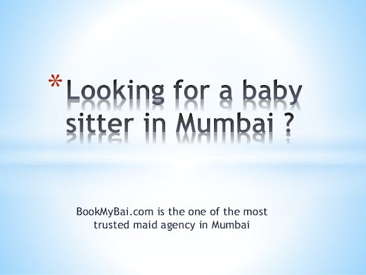 Maid agency in mumbai