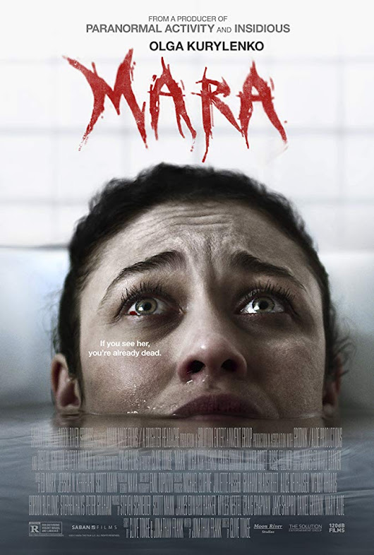Olga Kurylenko Descents Into Fear in Mara Trailer and Poster