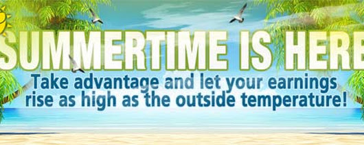 Summertime is here - PartnerCash.com