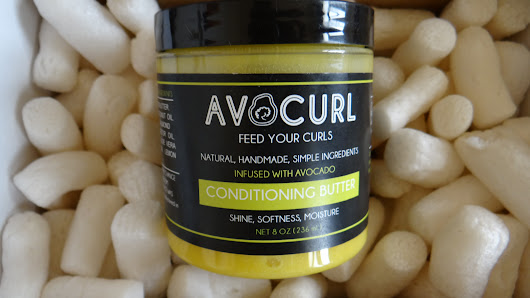 Wash and Go using Avocurl Conditioning Butter (Brand Ambassador)