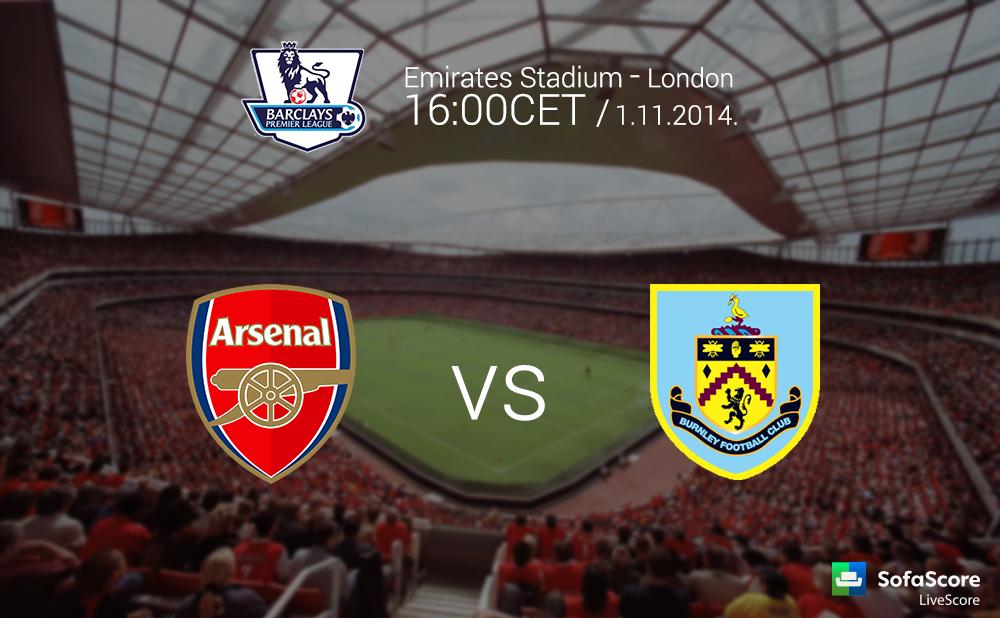 Barclays Premier League 10th round: Arsenal FC vs Burnley ...