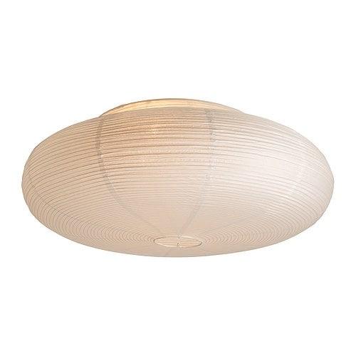 VÄTE Plafond IKEA Lyset spres jevnt; gir generell belysning.
