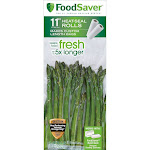 FoodSaver 11 in x 16 ft Roll 2-Pack