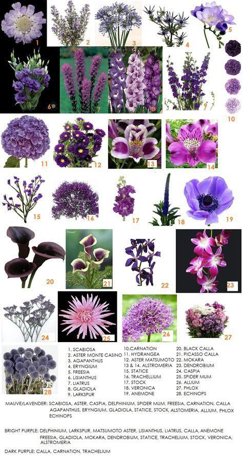 Color Series   Purple Flowers For Weddings   Dahlia Floral