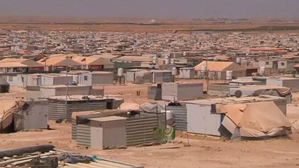 Campo de refugiados / Foto: Reprodução Reuters
