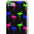 'Neon Lawn Flamingos' iPhone Case/Skin by TammyWinandArt