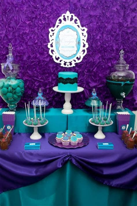 Purple & Teal Party, DArk Colours, Velvet, Classical