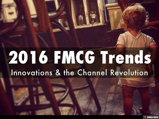 2016 Consumer Goods Trends and the Channel Revolution
