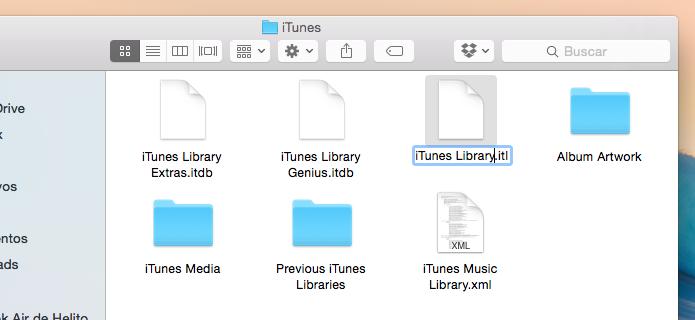 Restaurando backup da biblioteca do iTunes (Foto: Reprodução/Helito Bijora)