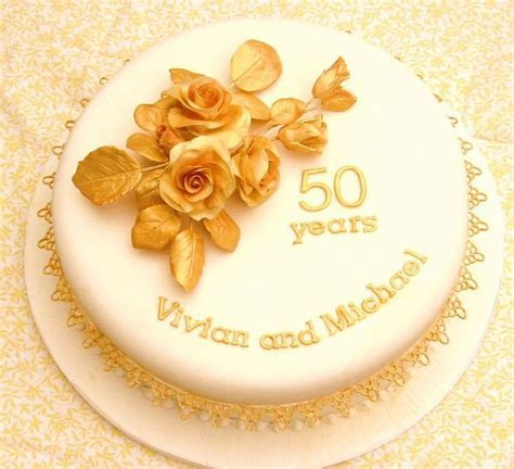Golden Wedding a(1) (900×821)   cake, cookies, treat