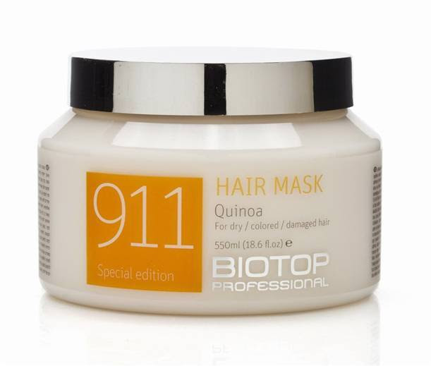 Biotop 3 item set Quinoa 911 hair Mask   shampoo   Ampoules for damaged hair  eBay
