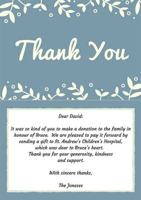 33  Best Funeral Thank You Cards   Money, Note and Funeral
