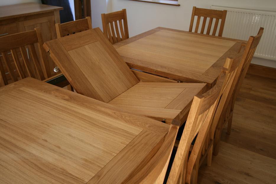 Butterfly Extending Tables | Extending Oak Dining Tables